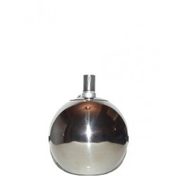 Nerezová petrolejová lampa (12 cm)