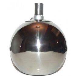 DIMENZA Nerezová petrolejová lampa 20 cm