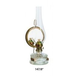 Petrolejová lampa 8''' se zrcadlovým reflektorem