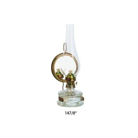 Petrolejová lampa se zrcadlovým reflektorem 8'''