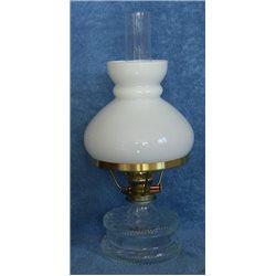 Petrolejová lampa Romantik s opálovým stínítkem