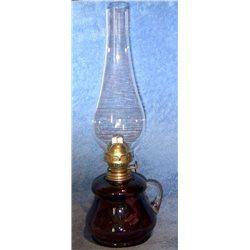 Petrolejová lampa 8''' (fialový zvonek)